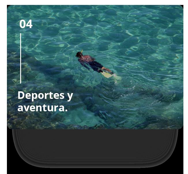 deportes acuáticos en la Isla de Tabarca